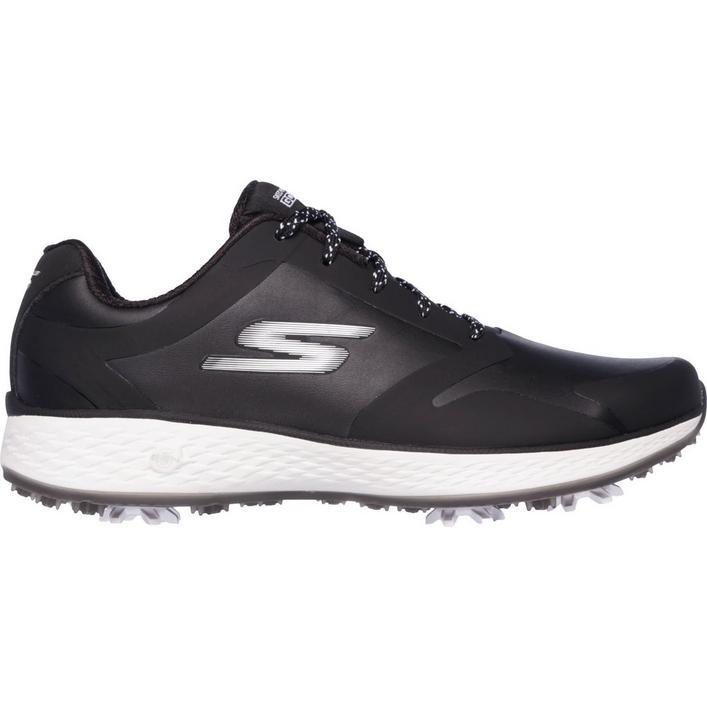 Women's Go Golf Pro Spiked Golf Shoe - BLK/WHT