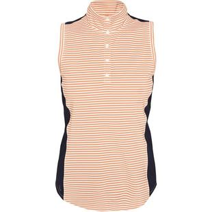 Women's Clarisa Sleeveless Mock Neck Top