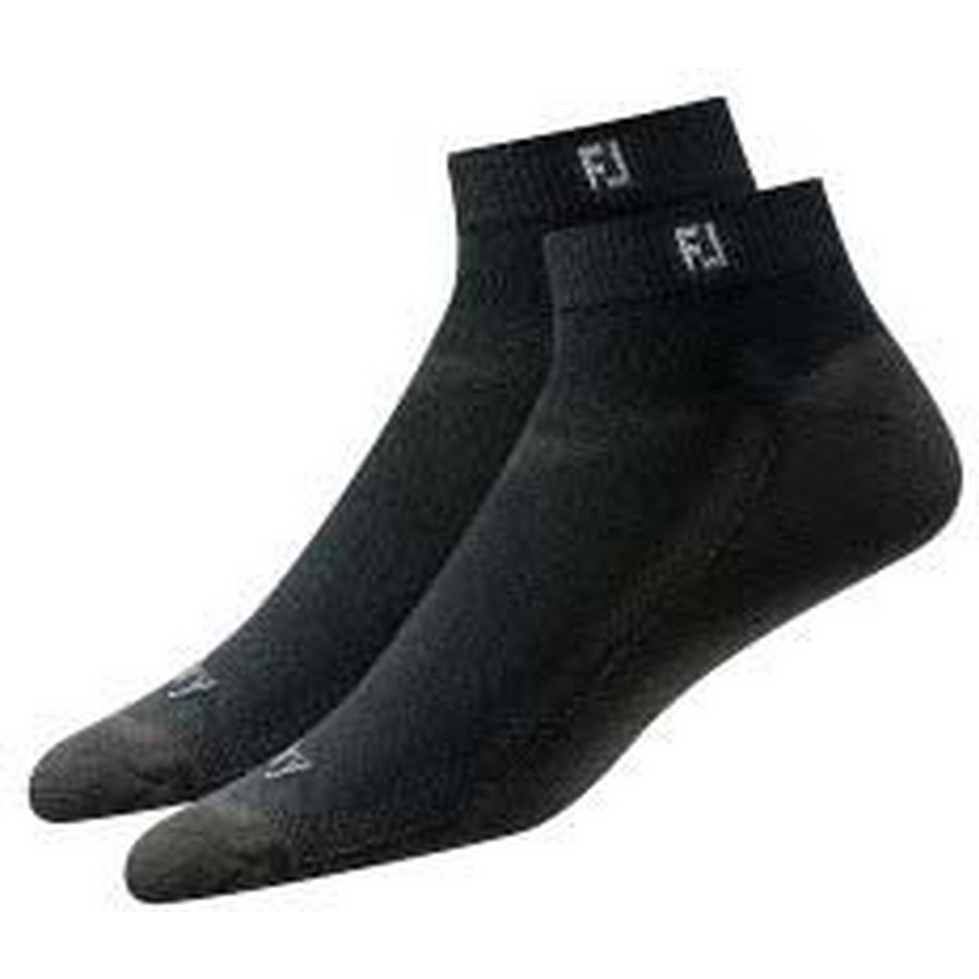 Mens Prodry Sport 2PK Black No Show Socks