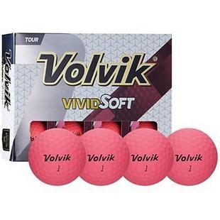 Vivid Soft Golf Balls - Pink