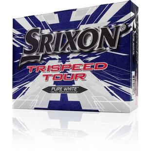 Trispeed Tour Golf Balls - White