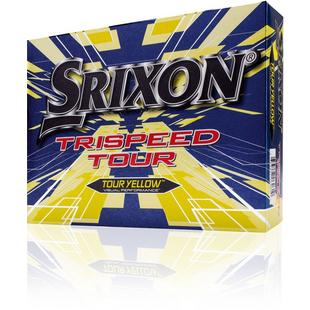 Trispeed Tour Golf Balls - Yellow
