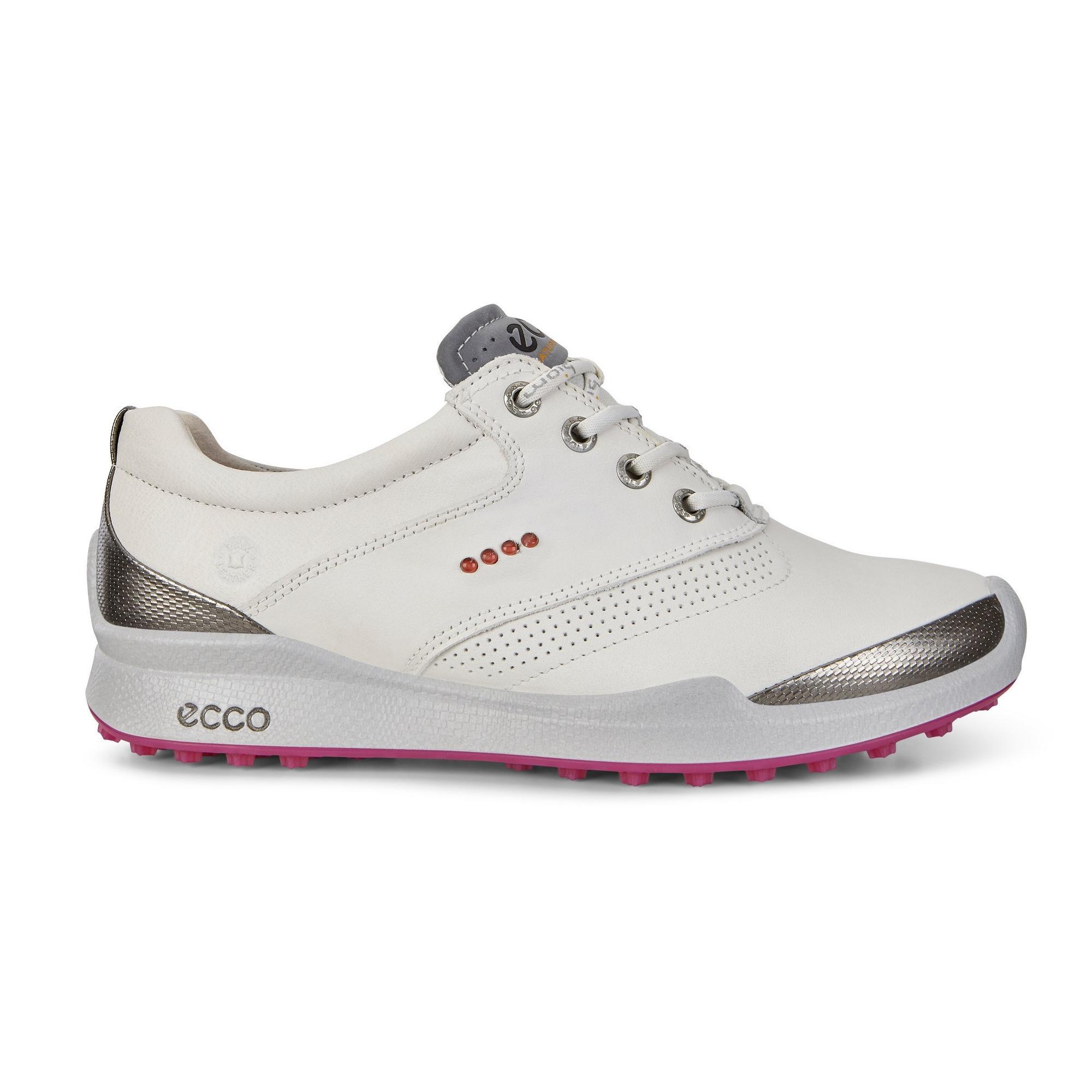 Women's Biom Hybird HM Spikeless Golf Shoe - WHT/PNK