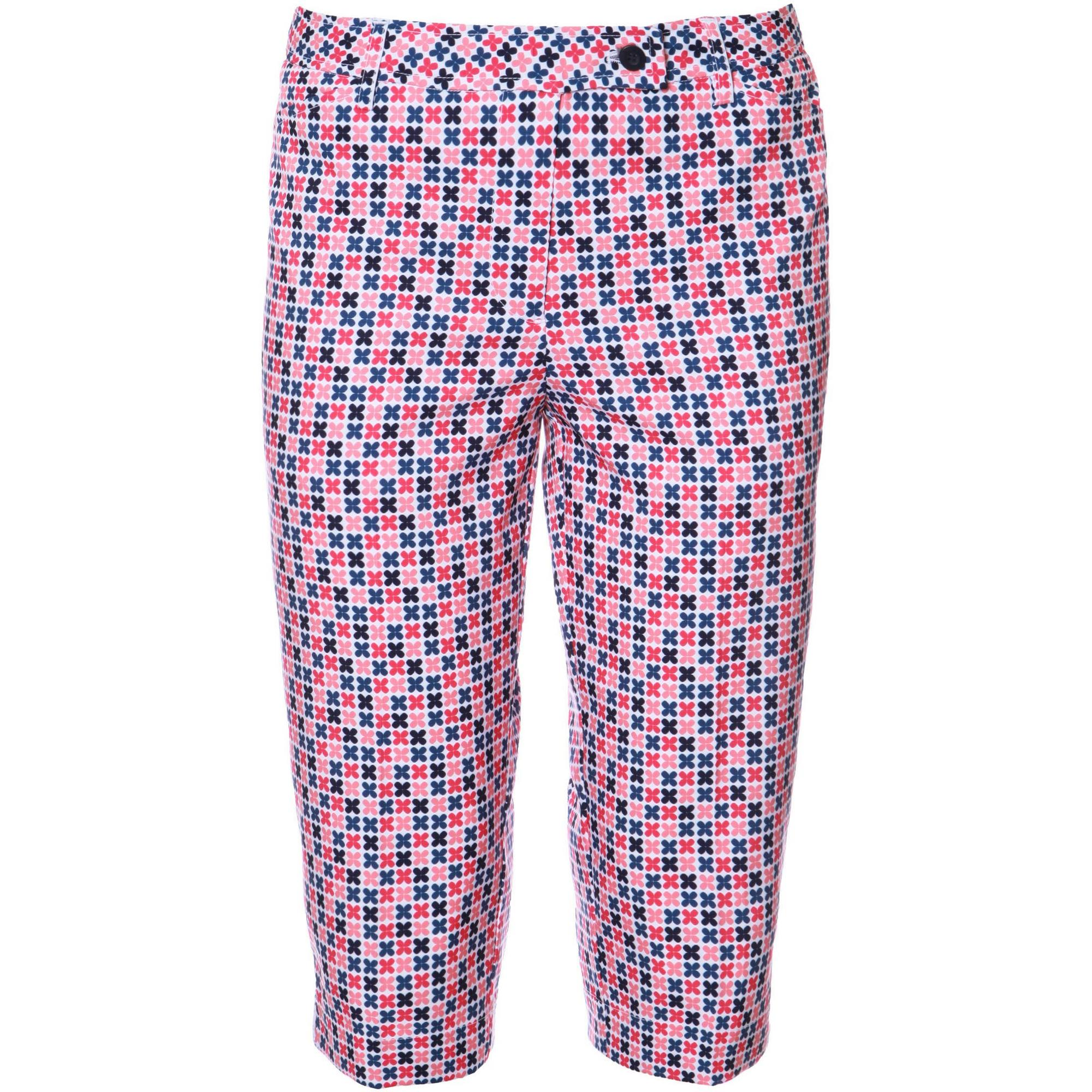 Women's Lillian Printed Capri Pant