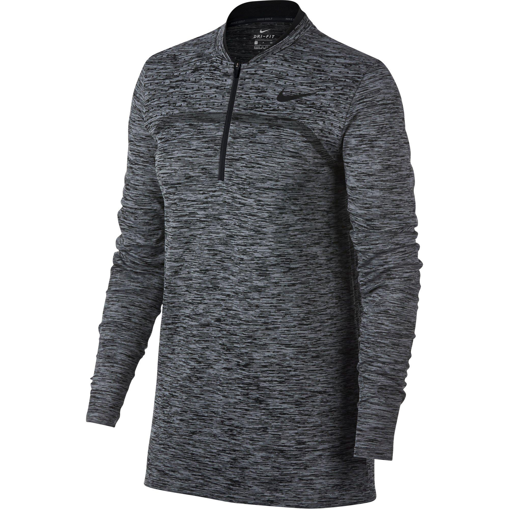 Women's Dri-Fit Seamless Quarter Zip Layering Pullover