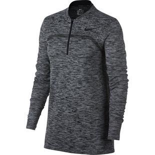 Women's Dri-Fit Seamless Quarter Zip Layering Pullover