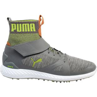 Chaussures Ignite Pwradapt Hi-Top à crampons pour hommes – Gris/Vert