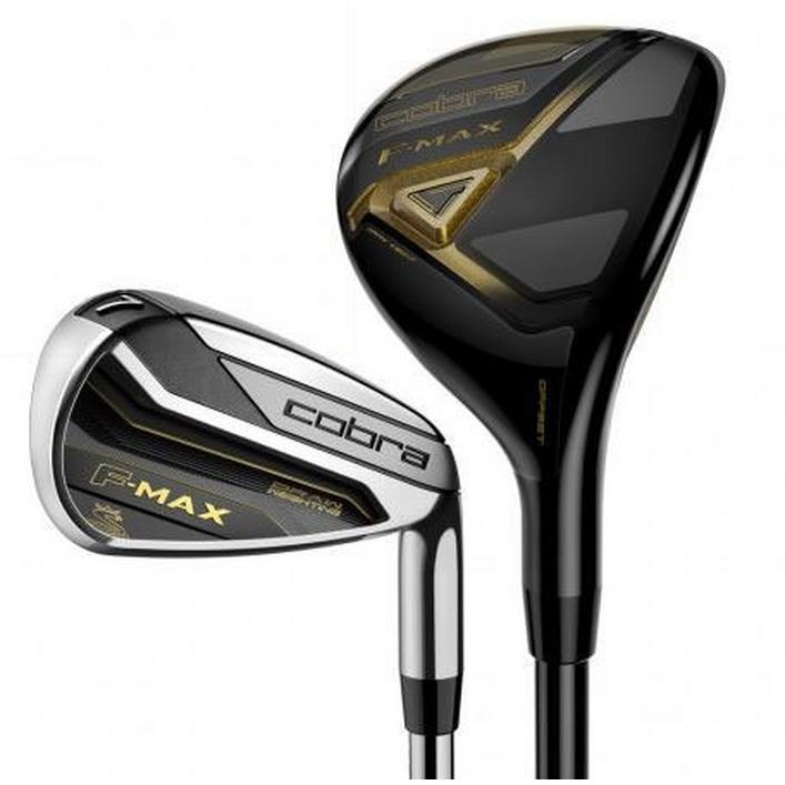 F-MAX 4H, 5H, 6-PW Combo Iron Set with Steel Shafts