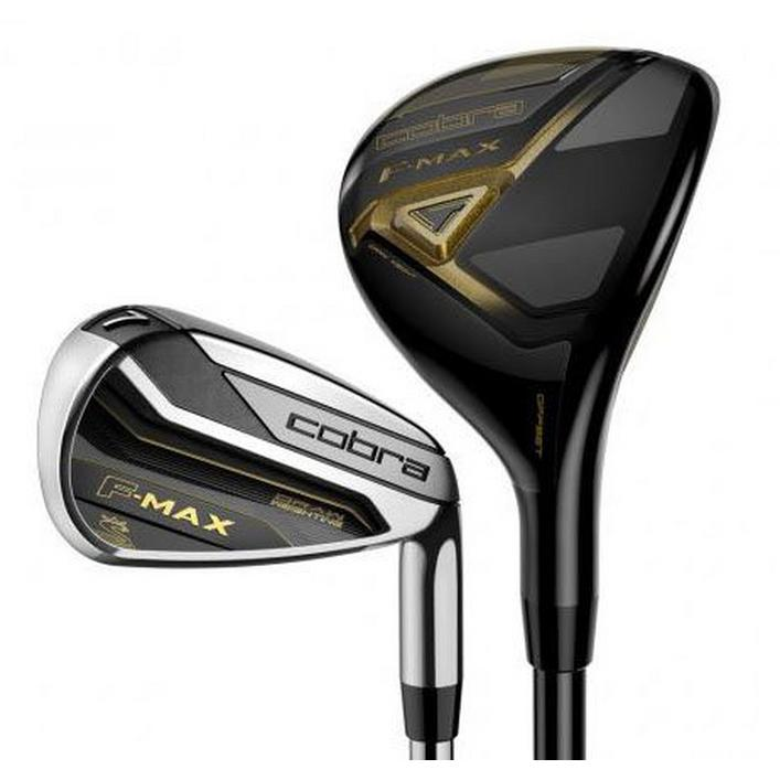 F-MAX 4H, 5H, 6-PW Combo Iron Set with Graphite Shafts