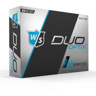 Duo Optix Blue Golf Balls