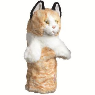 Oversized Headcover - Tabby Cat