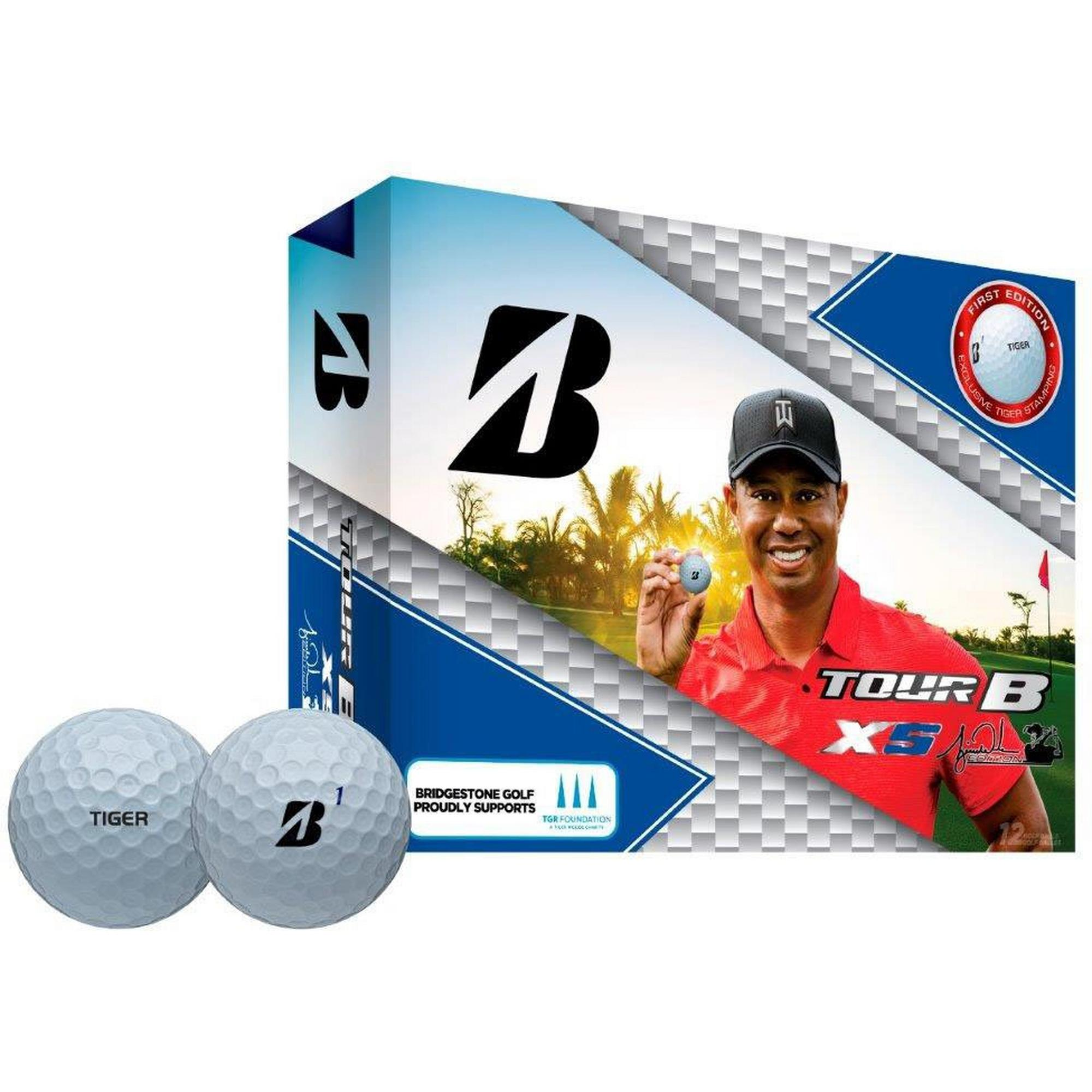 Tour B XS Tiger Edition Golf Balls