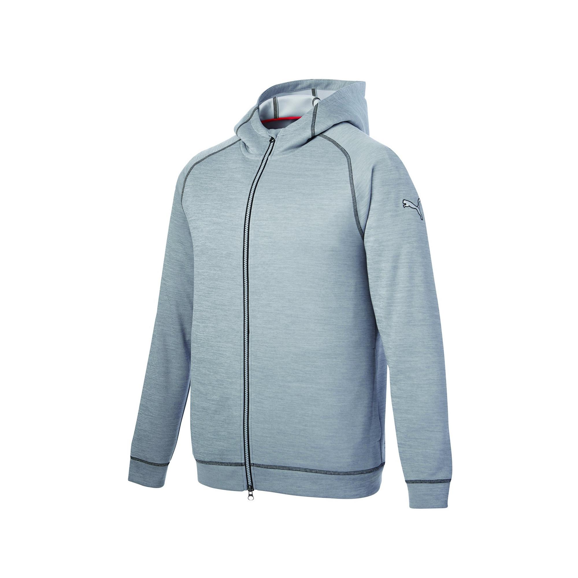 Men's Heathered Hoodie