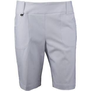 Pantalon court de 19 po à taille élastique pour femmes