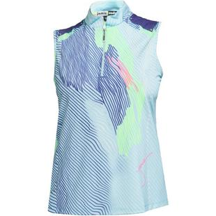 Women's Heartstrings Print Sleeveless Halter