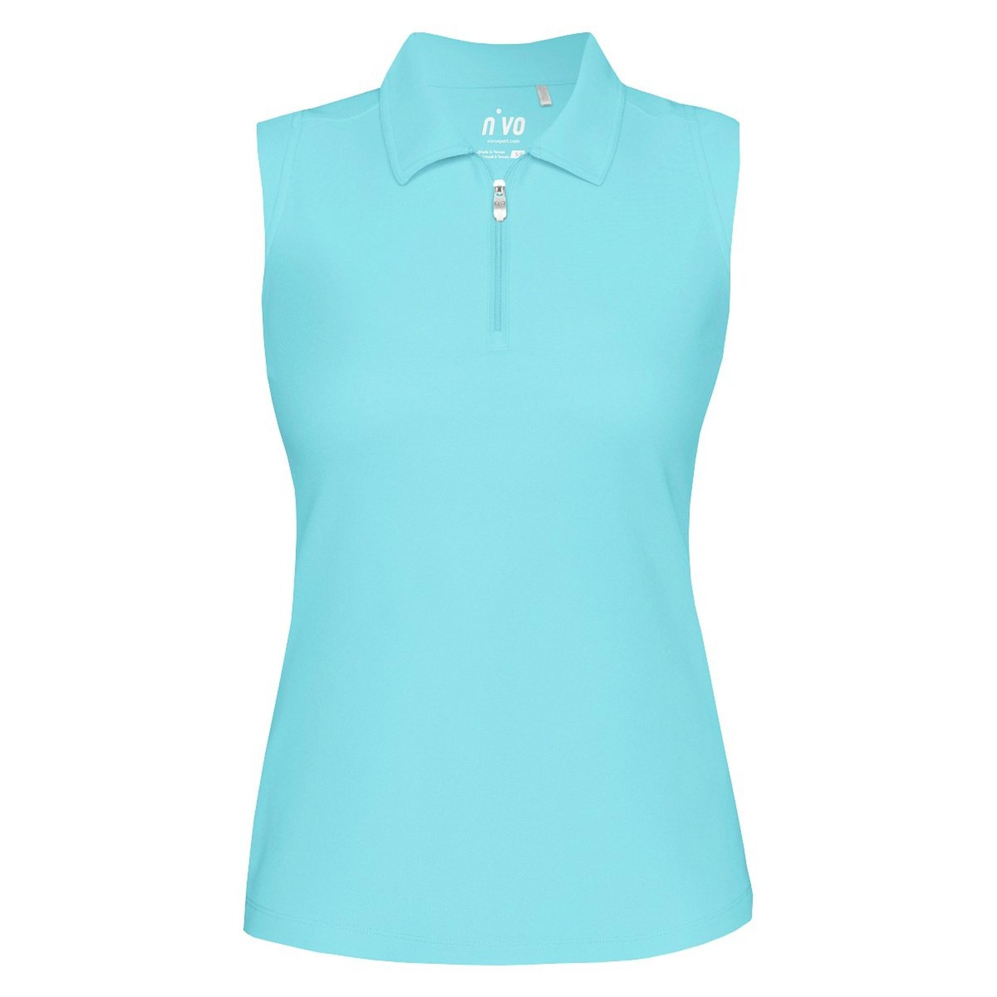 Women's Nelly Solid Sleeveless Polo