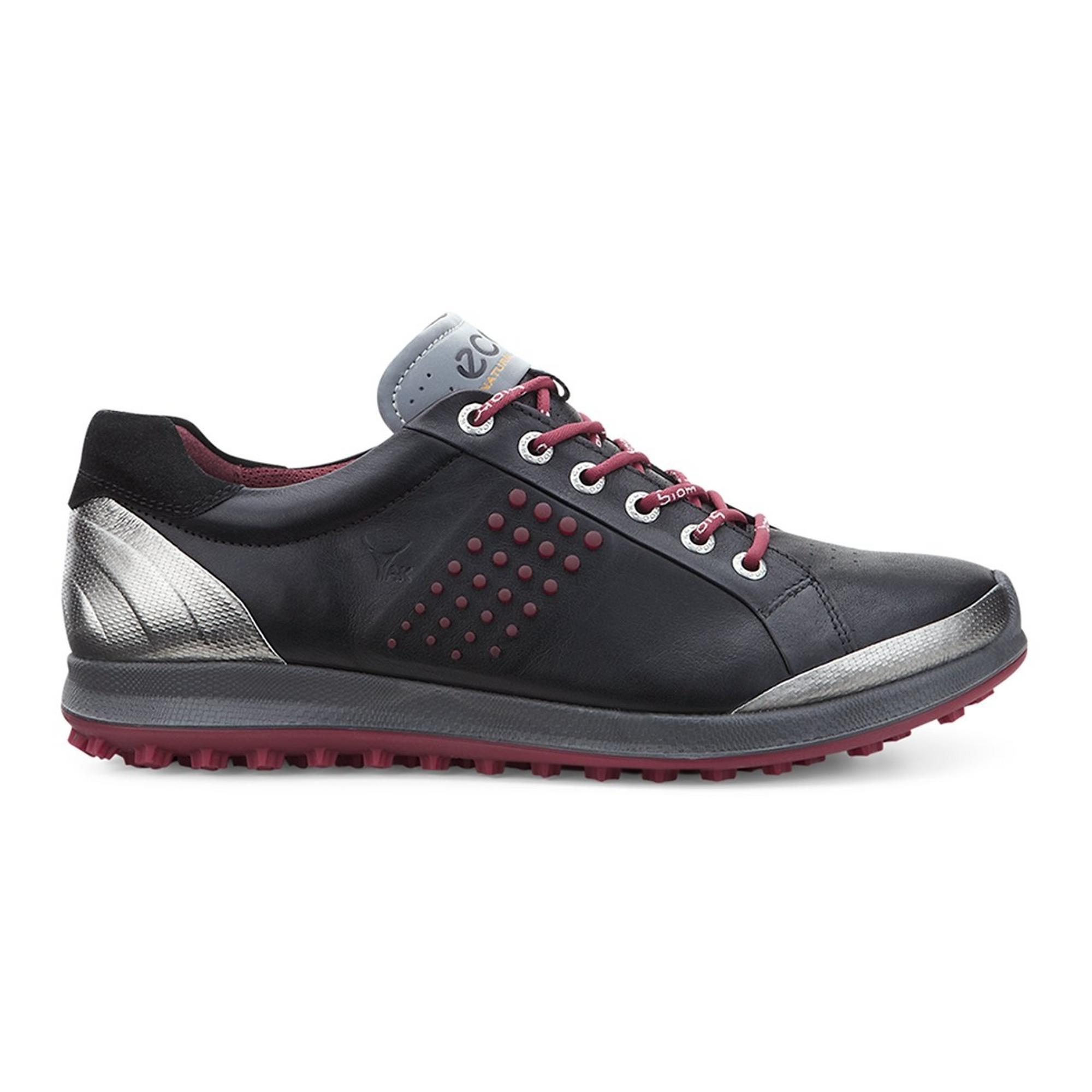 Chaussures BIOM Hybride 2 sans crampons pour hommes - Noir/Rouge