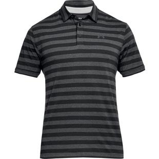 Men's Charged Cotton Scramble Stripe Short Sleeve Polo