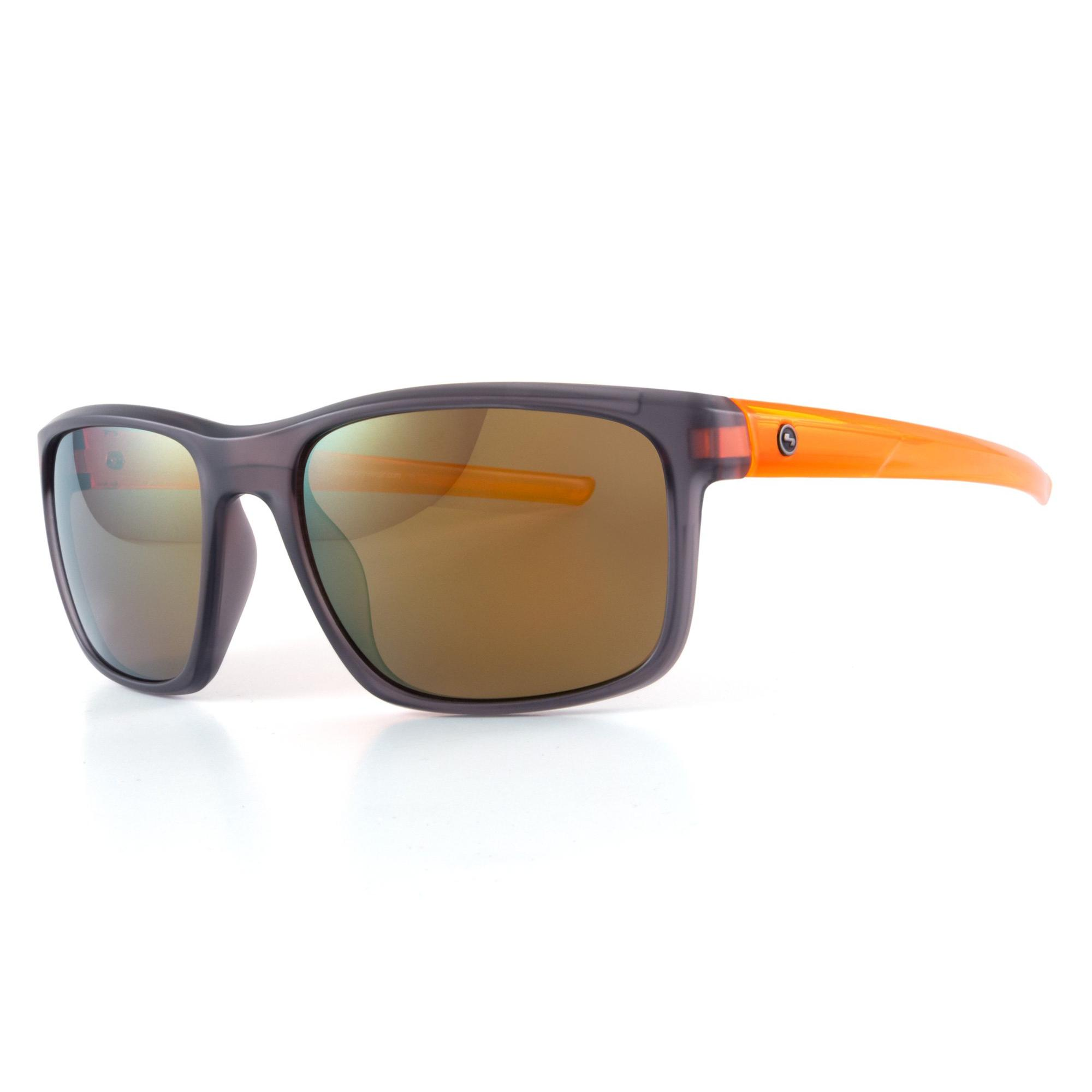 Men's Plasma Sunglasses - Grey/Orange