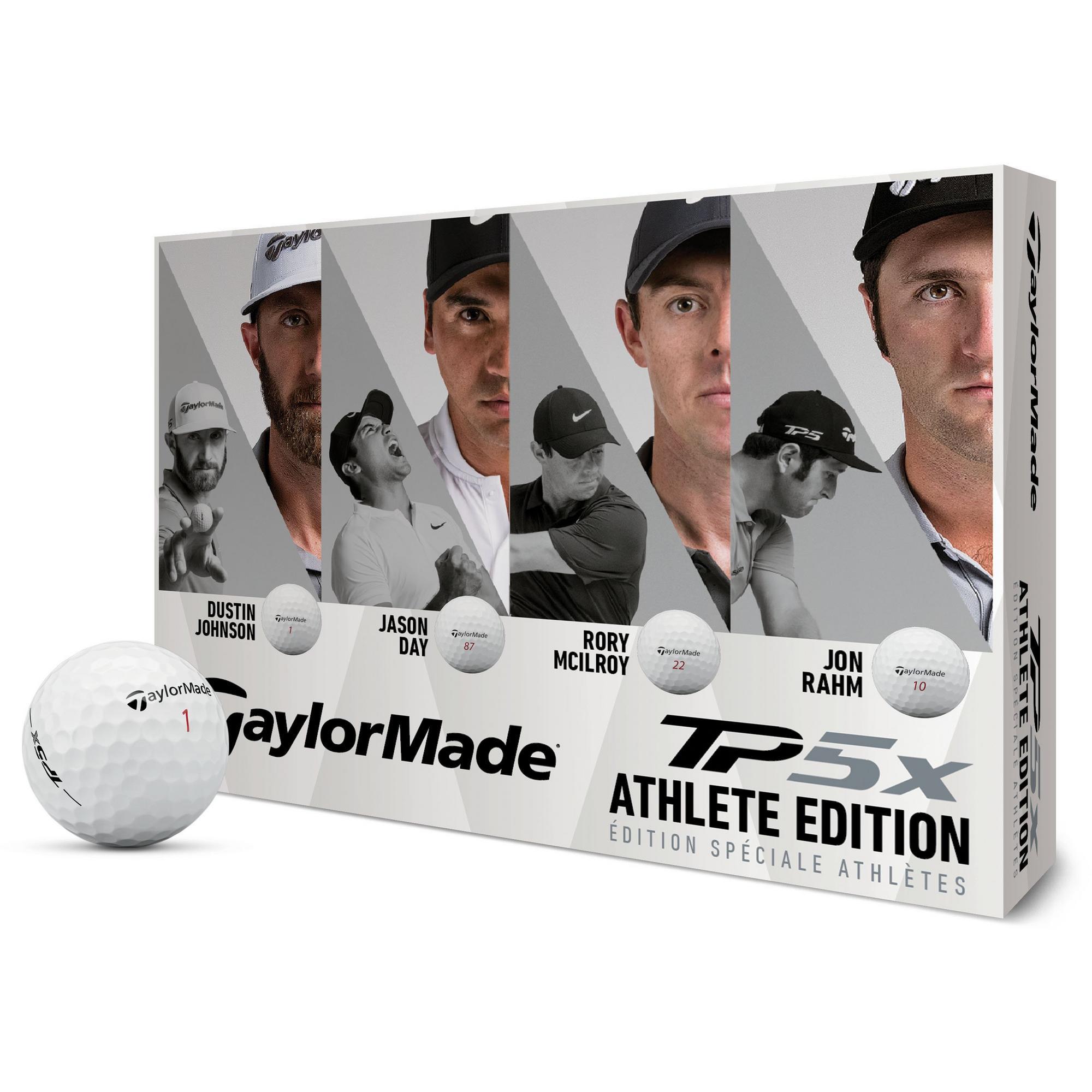 TP5x Athlete Edition Golf Balls - White