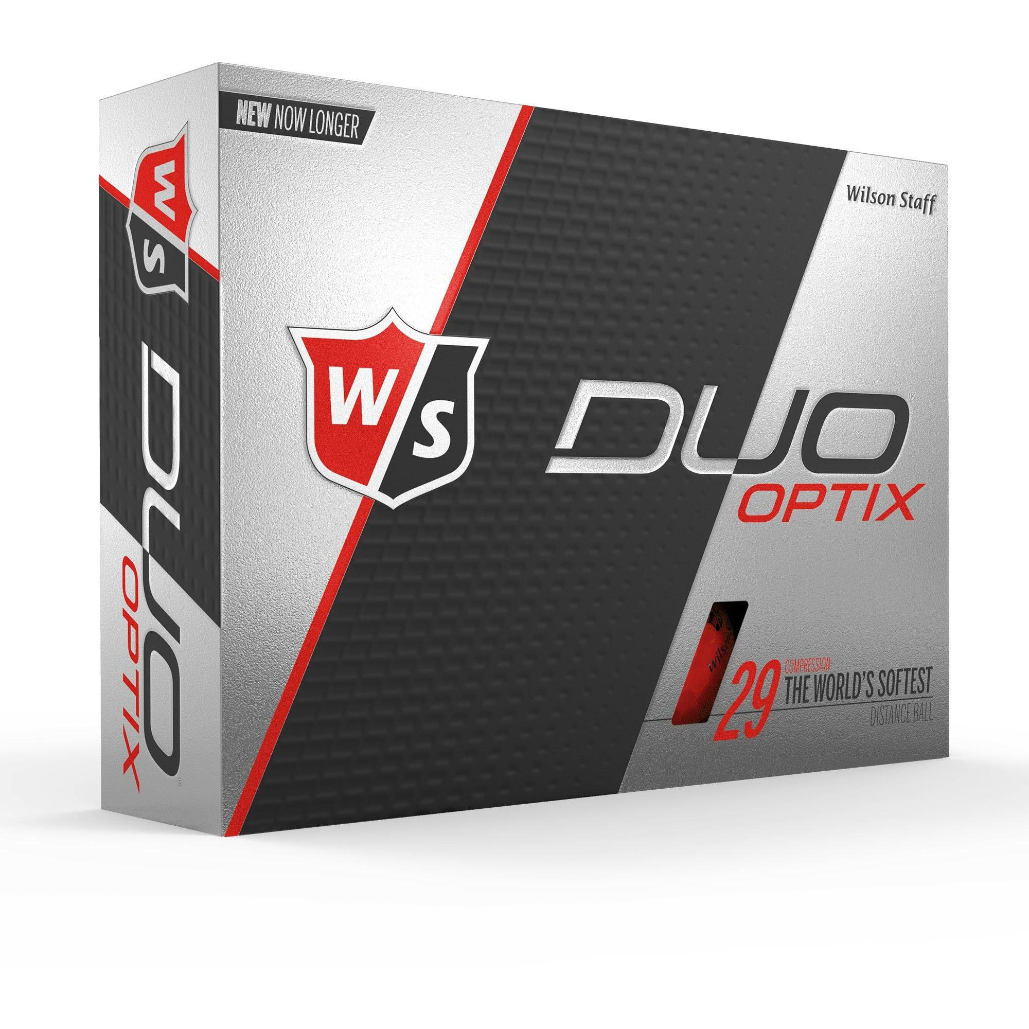 DUO Optix Golf Balls - Red