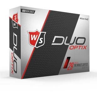 Prior Generation DUO Optix Golf Balls - Red