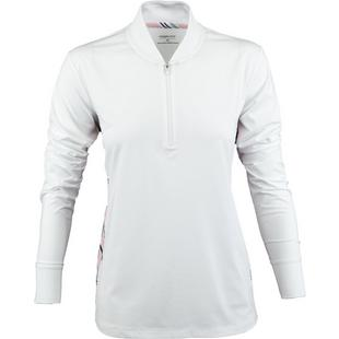 Women's Long Sleeve Side Panel Pullover