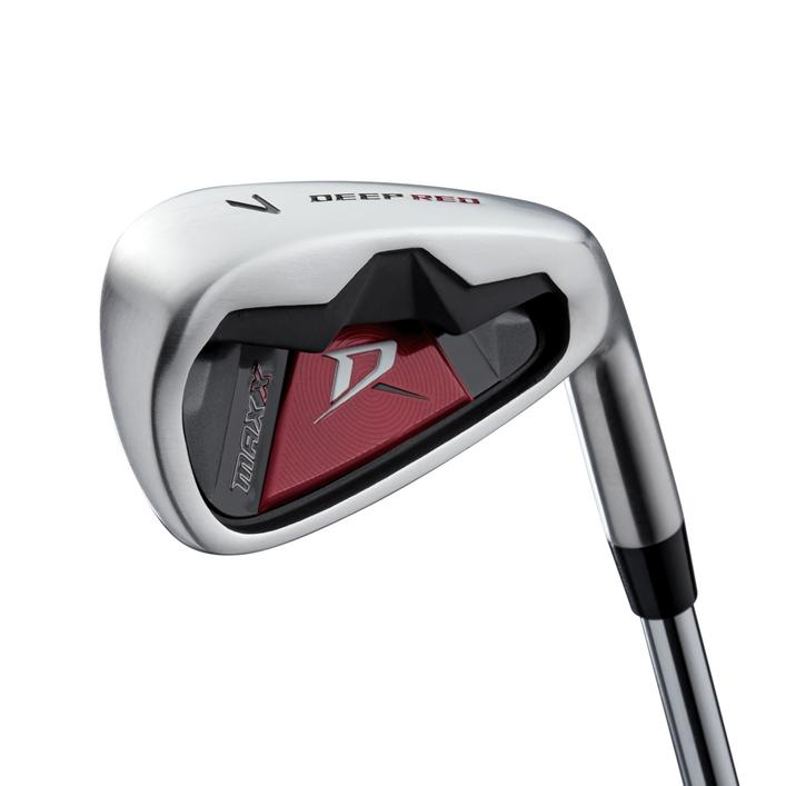 Deep Red Maxx 5-PW, SW Iron Set with Steel Shafts