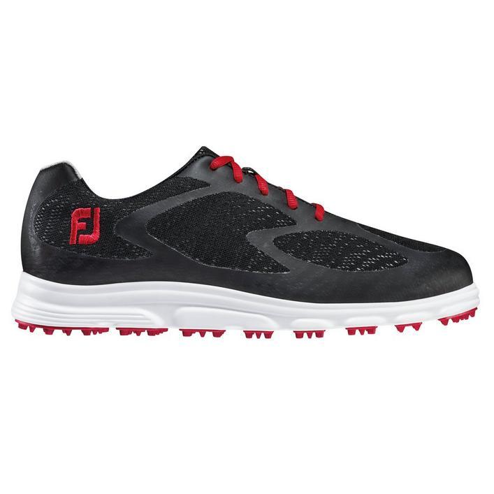 Men's Superlites XP Spikeless Golf Shoe - Black/Red