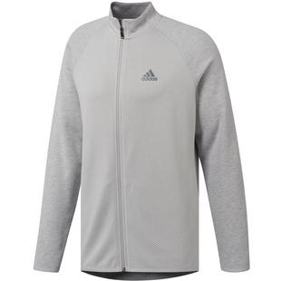 Men's Mid Weight Full Zip Heather Pullover