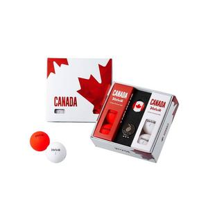 Vivid 6 Pack Golf Balls - Canada Edition