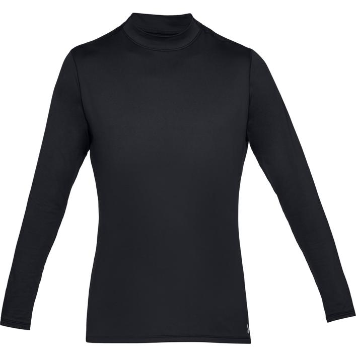 Men's ColdGear Armour Long Sleeve Fitted Mock