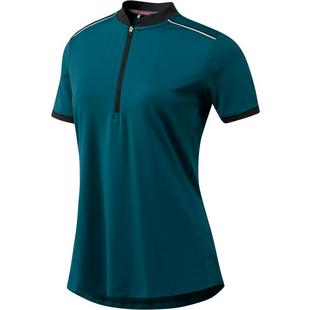 Women's Climacool Zip Placket Short Sleeve Polo
