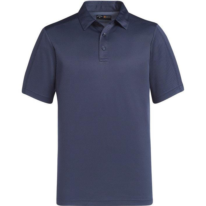Men's Essential Jacquard Short Sleeve Polo