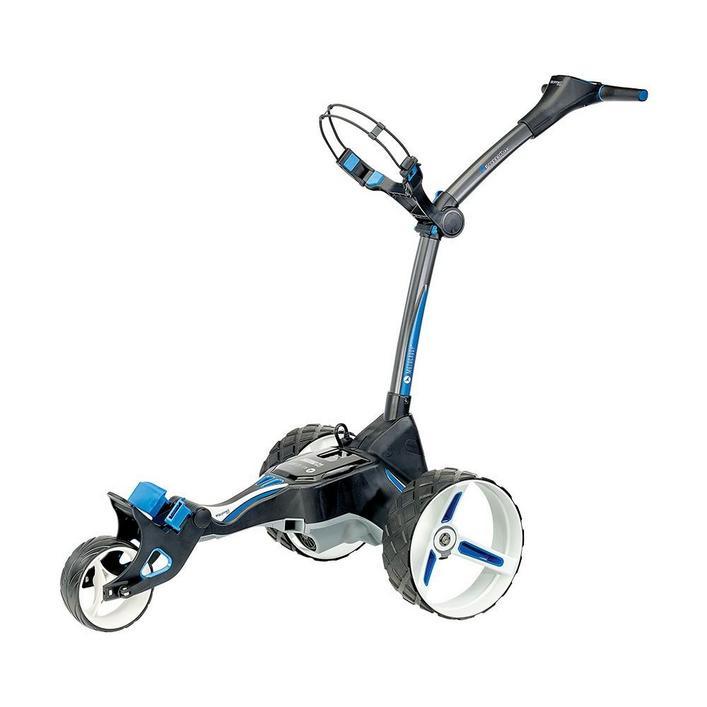 Chariot électrique M5 Connect GPS avec E-Brakes