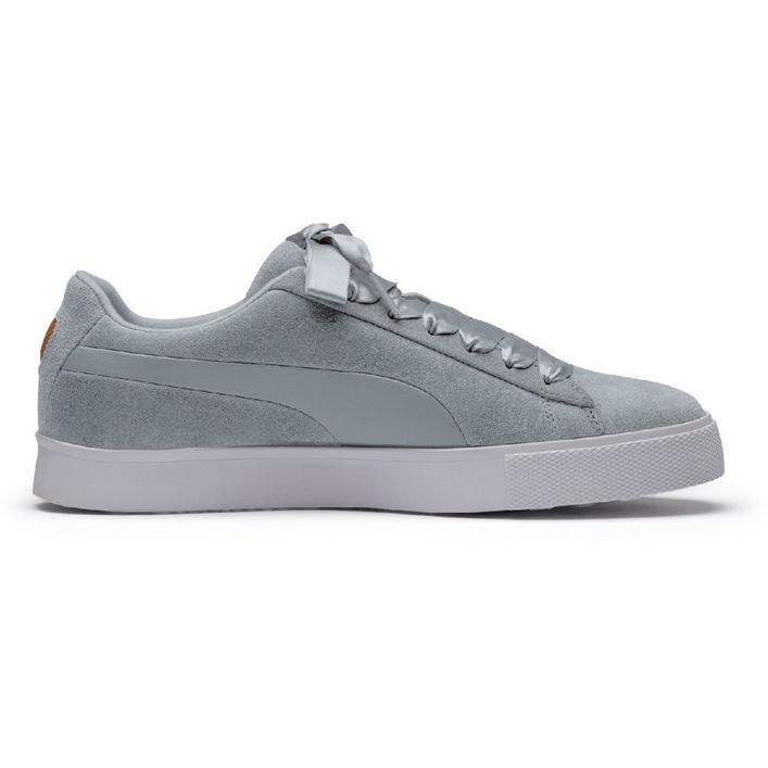 Women's Suede G Spikeless Golf Shoe - Light Grey