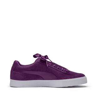 Women's Suede G Spikeless Golf Shoe - Dark Purple