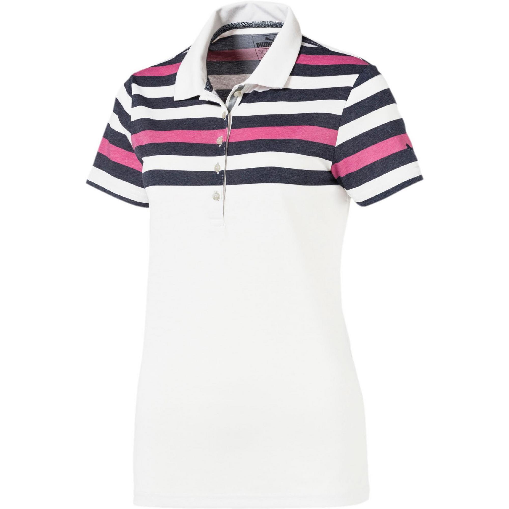 Women's Road Map Short Sleeve Polo