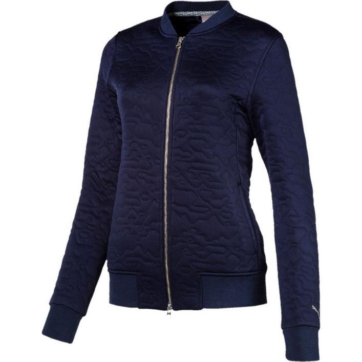Women's Camo Bomber Jacket