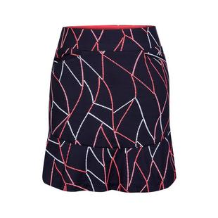 Jupe-pantalon Chester à imprimé Fit & Flare pour femmes
