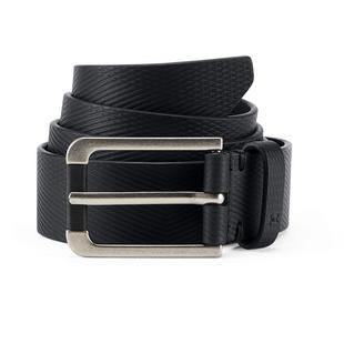 Men's Debossed Leather Belt