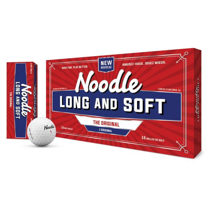 Noodle Long & Soft Golf Balls - White