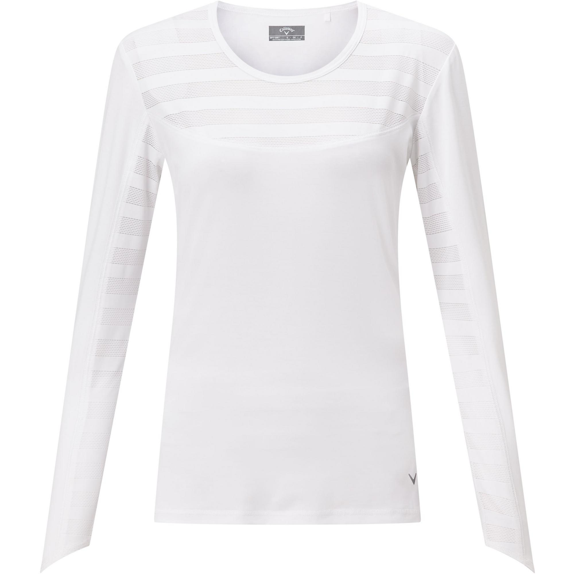 Women's Shadow Stripe Sun Protection Long Sleeve Top