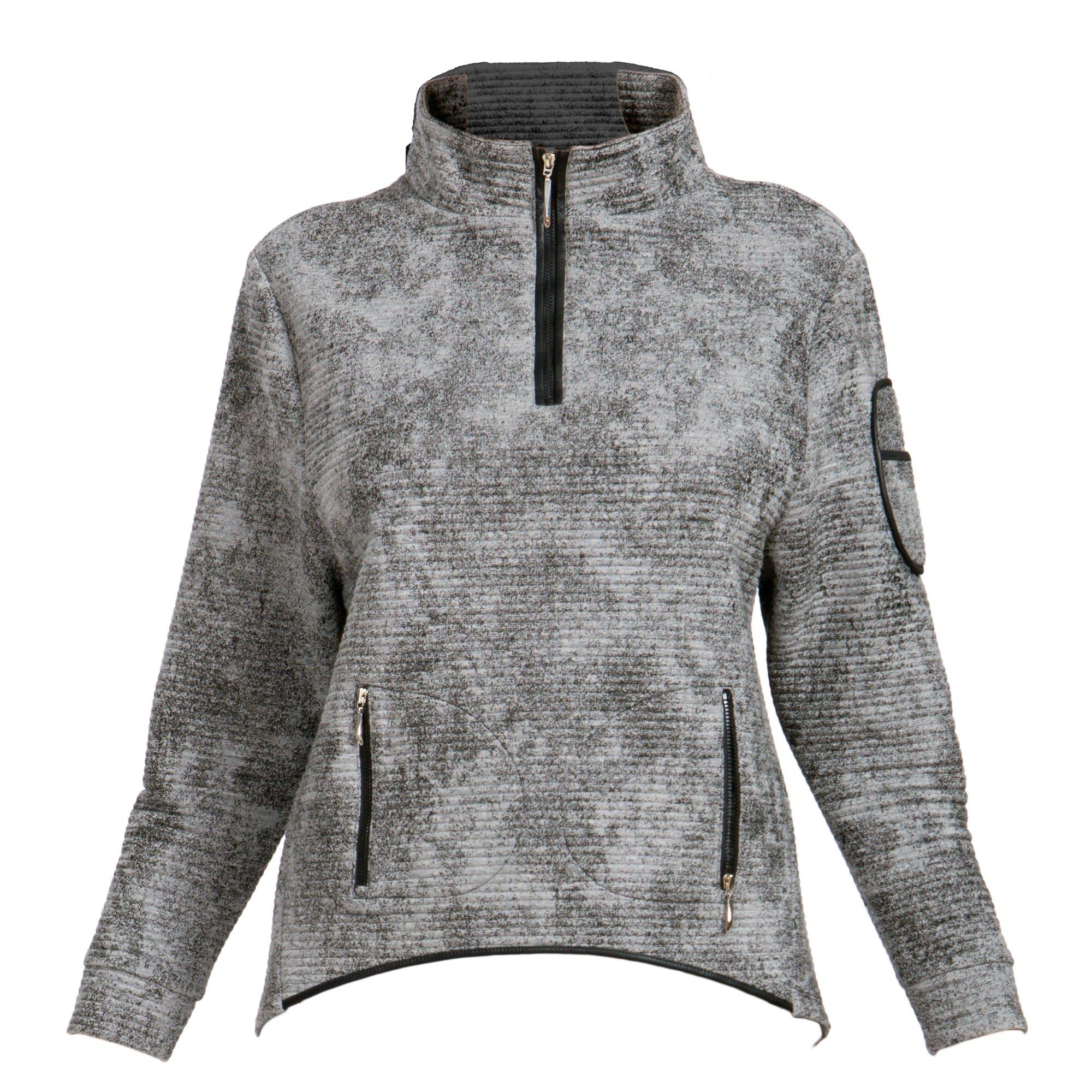 Women's Traveluxe Textured Long Sleeve Pullover