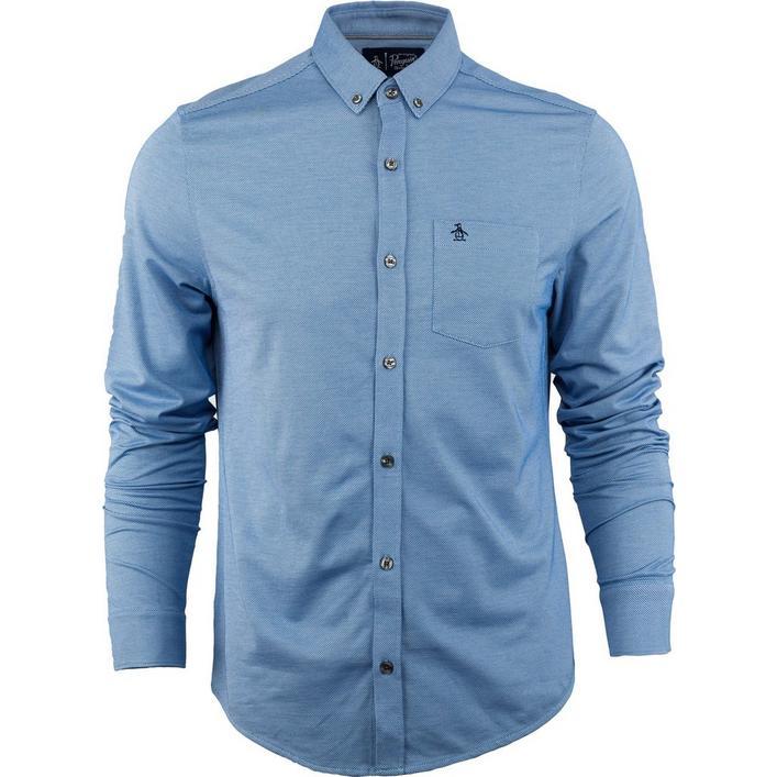 Men's Oxford Mate Woven Long Sleeve Shirt