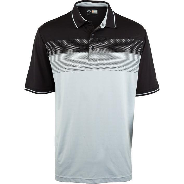 Men's Big & Tall Opti-Dri Denmin Jacquard Short Sleeve Polo