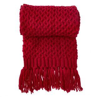 Women's Popcorn Knitwear Scarf