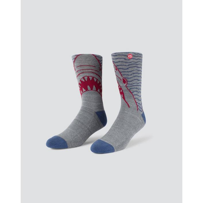 Men's Jaws Crew Sock