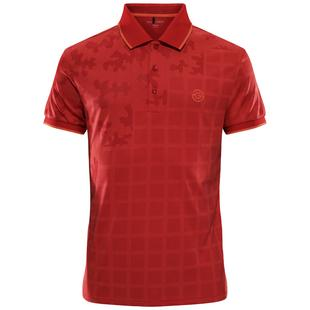 Men's E-The Red Short Sleeve Polo