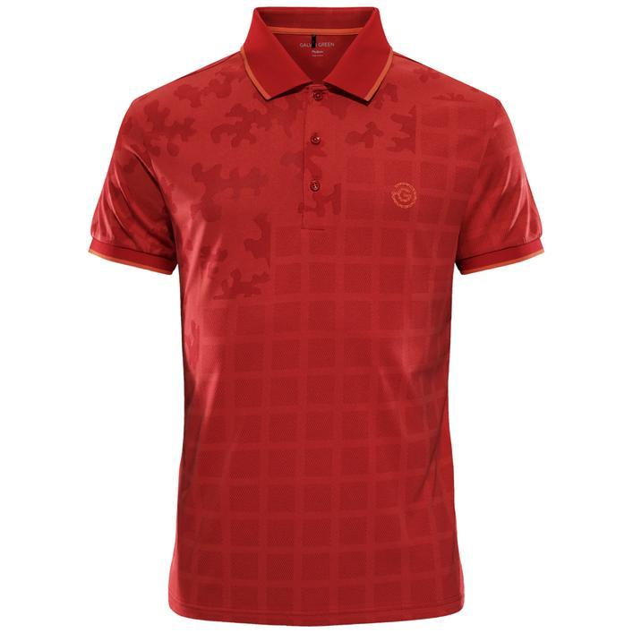 Men's E-The Red Short Sleeve Polo